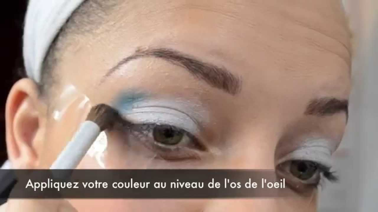 Maquillage De Soir E Noir Et Blanc Youtube