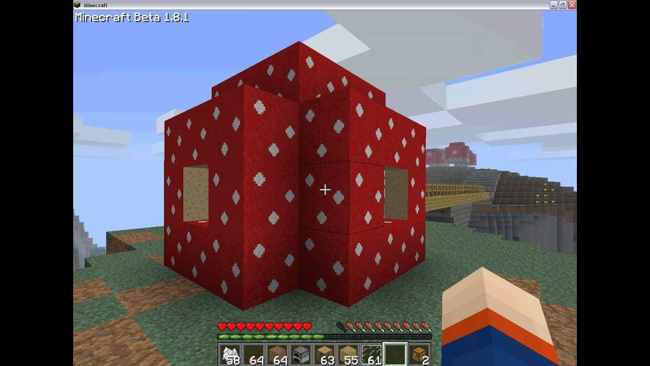 Minecraft comment faire une maison champignon youtube - Comment faire une maison ...