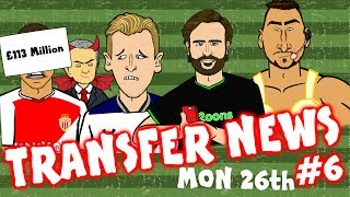 TRANSFER NEWS #6! Kane to Man Utd? Donnarumma Instagram! Sanchez & Aguero Swap?