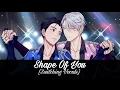 Nightcore - Shape Of You (EnglishSpanish Cover) (Switching Vocals)