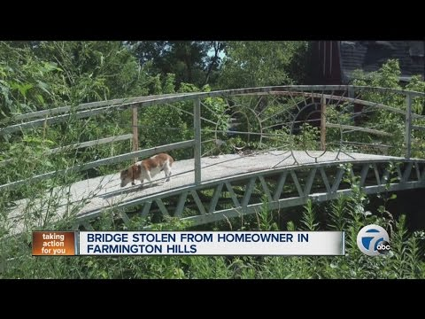 Anyone Seen A Stolen Bridge Lying Around Anywhere?