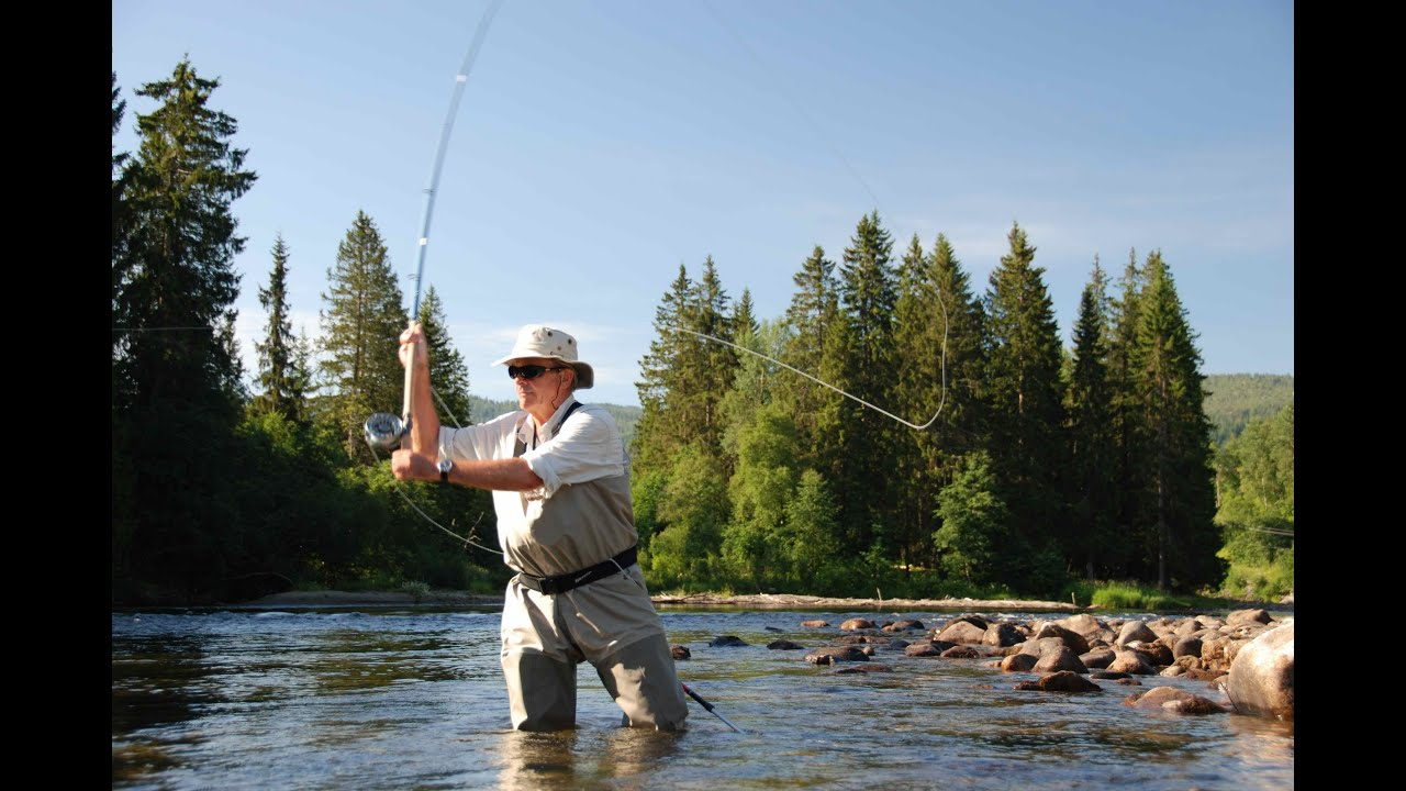 Norway salmon fishing orkla river aunan lodge for Fishing in norway