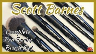 Scott Barnes Makeup Brushes | Unboxing, Review, Demo