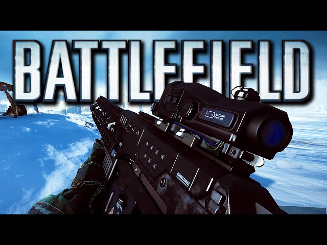 Battlefield 4 Final Stand - Alien Weapon, Hover Tanks, Scrub Cannon! (Operation Whiteout)