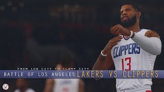 NBA Live 19: Lakers vs Clippers - 4Q | Free Agency Rosters
