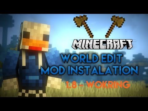 Minecraft 1.7.10 - How to install WorldEdit