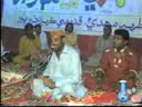 Mukhtiar Ali  Sheedi Live 15 Shaban Khairpur Mirs 2012 video
