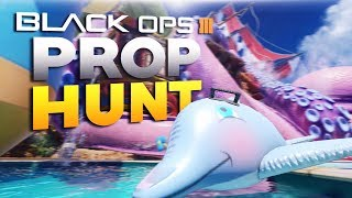 Black Ops 3 Funny Moments - Prop Hunt! (BO3 PC Mods)