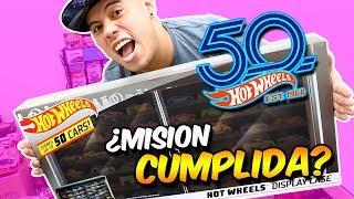 Llenando mi coleccionador Hot Wheels - Hot Wheels Display Case 2018 - Mi Coleccion Hot Wheels