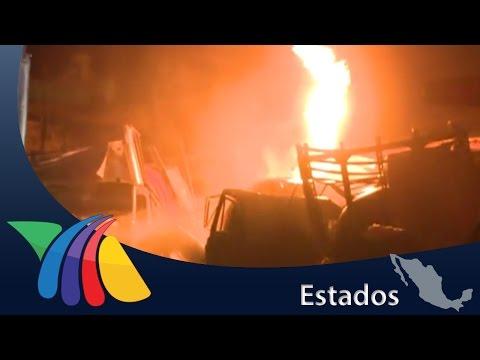 Así fue la explosión en San Juan del Río | Noticias de Querétaro