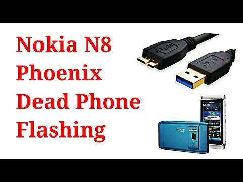 Nokia N8 Phoenix Dead Phone Flashing