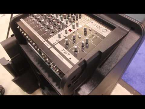 2012 Namm Show - FTB Amico 10 USB Portable Sound System - Hollywood Dj Equipment