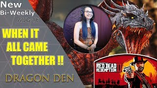 [EP4] The Dragon Den - Red Dead Redemption 2, Spiderman, Fallout 76, DOOM Eternal, and more!