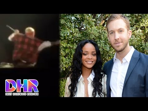 Justin Bieber Falls Hard On Stage - Calvin Harris Dating Rihanna After Taylor Drama? (DHR)