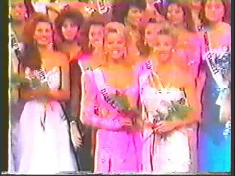 Miss Texas USA 1986 - Crowning Moment