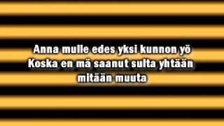 Irina & Maija Vilkkumaa - Kunnon Syy (Lyrics)