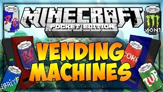 Vending Machines - MOD - Minecraft PE -