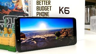 Oukitel K6 Full Review - THE BETTER BUDGET PHONE ( 18:9 FHD+, 6300mAh, NFC, 6GB RAM )