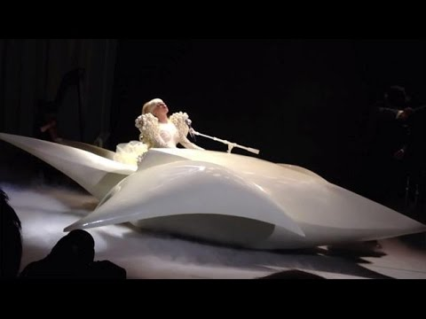 Lady Gaga - Born This Way live White House for Barack Obama
