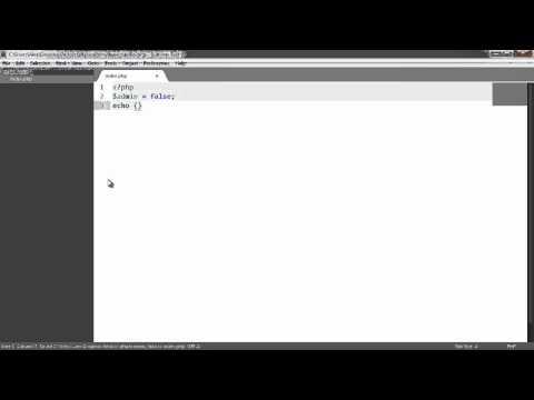 Learn PHP: Ternary operator