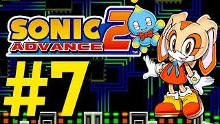 Sonic Advance 2 - Sky Canyon & Techno Base (Cream)