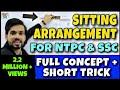 Sitting Arrangement in Reasoning Shortcuts | Sitting Arrangement in Hindi/Reasoning/Trick|SSC & NTPC thumbnail
