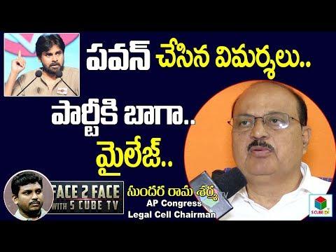 Sundara Rama Sharma About Janasena Chief Pawan Kalyan | AP Elections 2019 Chandrababu | S Cube TV