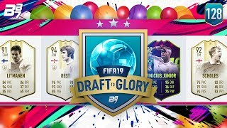 INSANE STRIKE FROM THE GINGER NINJA!   FIFA 19 DRAFT TO GLORY #128