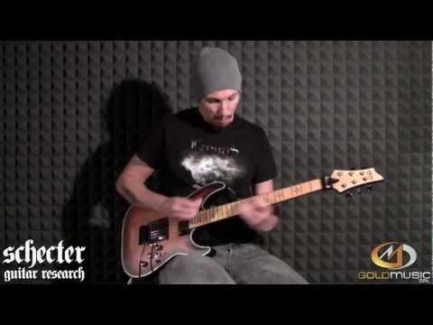 Schecter Hellraiser Extreme Maple C-1 Fr Demo By Gianluca Ferro video