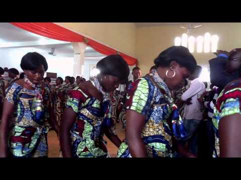 Cojecó Feminino Monte das Oliveiras, Instalação de Glória a Deus A Paz de Deus, IEA, Cabinda, Angola