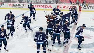 NHL 16 (Xbox One) Winnipeg Jets vs Boston Bruins Gameplay (Full Game Cup Finals)