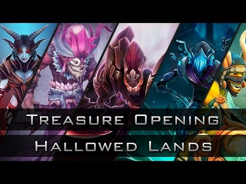 Dota 2 Chest Opening: Treasure of the Hallowed Lands