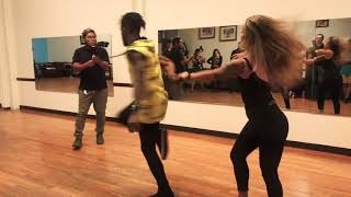 Zouk demo by Walter Fernandes & Hannah Miller-Jones at DC Zouk Festival pre-party