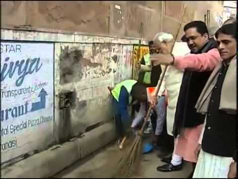 904 PM Narendra Modi takes part in Swachh Bharat Abhiyan in Varanasi