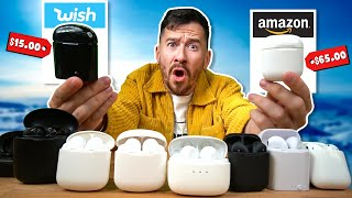I Bought All The AirPods On Amazon.. (Wish vs. Amazon)