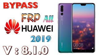 Huawei Y9 2019 Frp Bypas