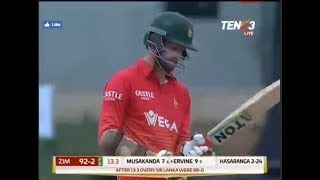 Sri Lanka vs Zimbabwe ODI 4 of 5 full highlights 2017