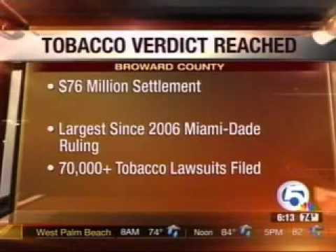 $75 Million Dollar Verdict to Wife and Daughter Whose Husband Died of Lung Cancer