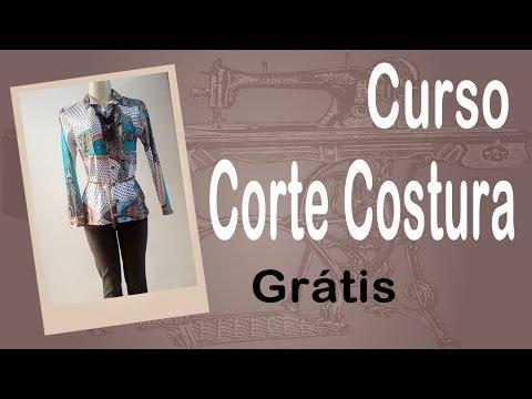 Corte e Costura passo-a-passo - Camisa Feminina Fácil - parte 2