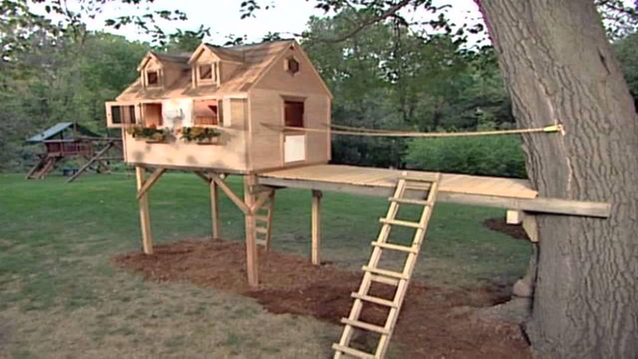 Деревянные дома для поделок