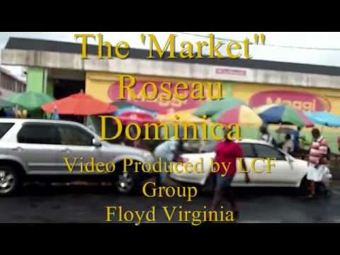 Farmers Market Caribbean Dominica KK4WW N4USA