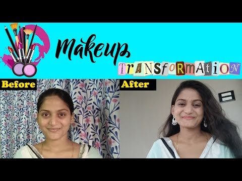 Simple Makeup at Home in Telugu | 10 min makeup transformation |