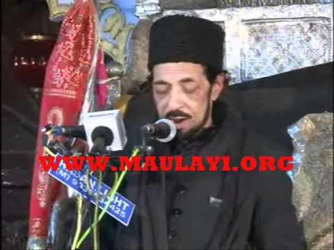 Allama Zameer Akhtar Naqvi In Chota Imambada Lucknow 2012 1st Majlis video