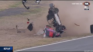 Thompson Huge Rollover Race 1 | Aussie Racing Cars - Winton 2018