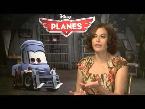 Teri Hatcher talks 'Planes' — Interviewed by FILMCLUB reporter Elicia