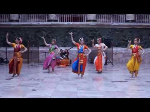 Школа индийского танца в Санкт-Петербурге Чакри Semi Classical Indian Dance - Mystic India video