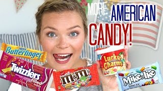 Trying American Candy part 2 & GIVEAWAY