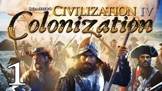 Играем в Civilization IV Colonization часть 1