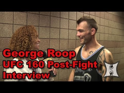 UFC 160 George Roop on Defeating Brian Bowles Getting New Victory Tattoo