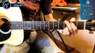 """Como tocar Las Piedras Rodantes """"EL TRI"""" PRINCIPIANTES en Guitarra Acustica (HD) Tutorial Guitarra"""